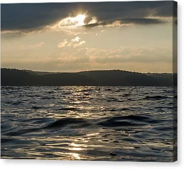 Murray Kentucky Canvas Print - Sunrise Of Kentucky Lake by Neil Todd