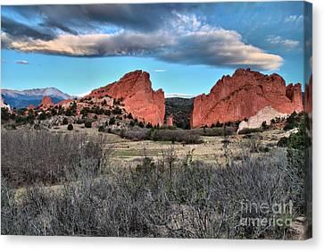 Colorado Landmarks Canvas Print - Sunrise Of The Gods by Adam Jewell