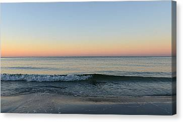 Sunrise On Alys Beach Canvas Print