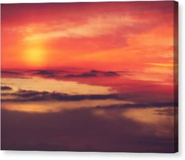 Sunrise On Mars Canvas Print by Condor