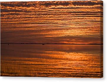 Sunrise On Ramrod Key Canvas Print