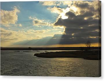Sunrise On St. Claire Canvas Print