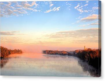 Sunrise On The Alabama River Canvas Print by JC Findley