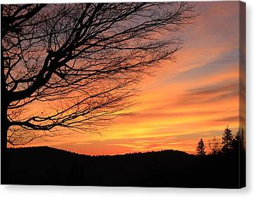 Sunrise On The Blue Ridge Parkway Canvas Print by Mountains to the Sea Photo