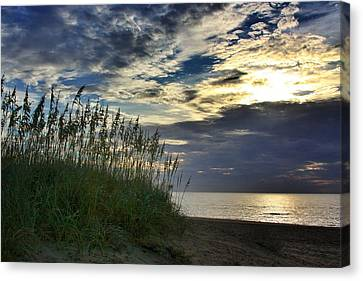 Sunrise On The Dunes Canvas Print