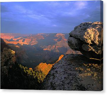 Sunrise On The Grand Canyon From Yaki Canvas Print