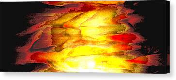 Sunrise On The Steps Of Heaven Canvas Print by Bruce Iorio