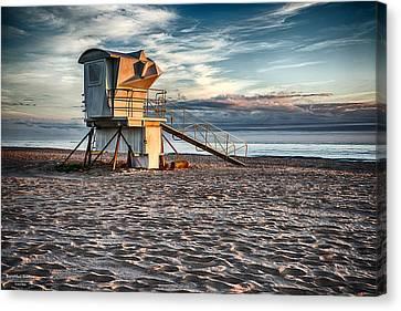 Sunrise On Vero Beach 2 Canvas Print