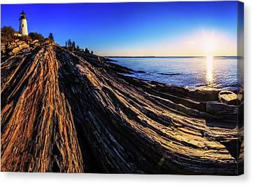 Sunrise Over An Atlantic Coastline Canvas Print by Babak Tafreshi