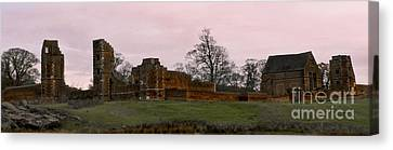 Sunrise Over Bradgate Canvas Print by Linsey Williams