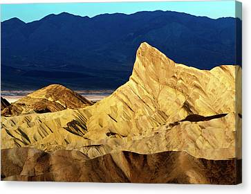 Sunrise Over Death Valley Canvas Print by Babak Tafreshi