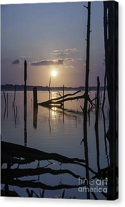 Sunrise Over Manasquan Reservoir Canvas Print