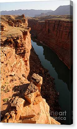 Sunrise Over Marble Canyon - Arizona Canvas Print by Gary Whitton