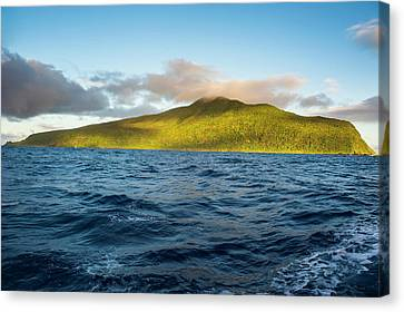 Sunrise Over Ofu Island, Manu'a Island Canvas Print by Michael Runkel