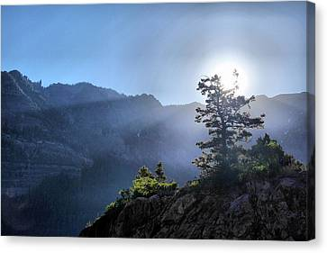 Sunrise Over Ouray Canvas Print