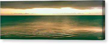 Sunrise Over Pacific Ocean, Cabo Pulmo Canvas Print by Panoramic Images