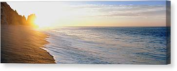 Baja California Canvas Print - Sunrise Over The Beach, Lands End, Baja by Panoramic Images