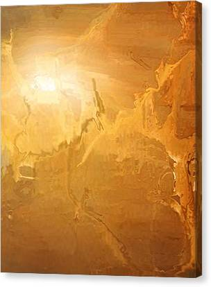 Sunrise Over The Dunes Canvas Print by Kume Bryant