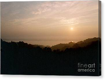 Sunrise Over The Illinois River Valley Canvas Print