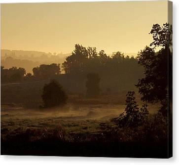 Sunrise Over The Mist Canvas Print