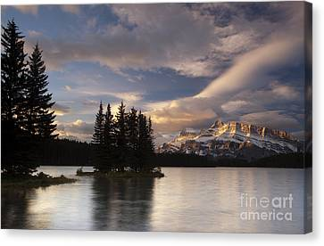Sunrise Over Two Jack Canvas Print