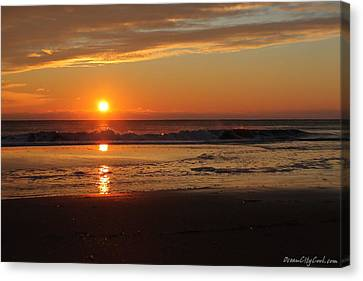 Sunrise Serenity Canvas Print