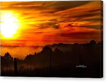 Sunrise Canvas Print by Stephani JeauxDeVine