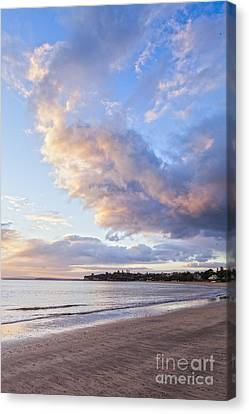 Auckland Canvas Print - Sunrise Takapuna Beach Auckland by Colin and Linda McKie