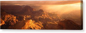 Hopi Canvas Print - Sunrise View From Hopi Point Grand by Panoramic Images