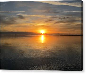 Sunrise With God Canvas Print by Joetta Beauford