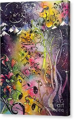 Suns Sax Spring Song Canvas Print