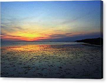 Sunset @ Bangpuu Canvas Print