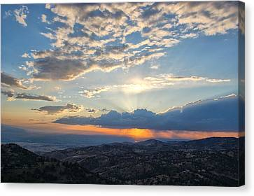 Sunset 101 Canvas Print