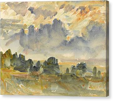 Sunset, 1915 Canvas Print