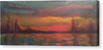 Sunset 2012 Canvas Print by Piotr Wolodkowicz