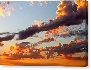 Sunset 5 Canvas Print by Ashley Balkan