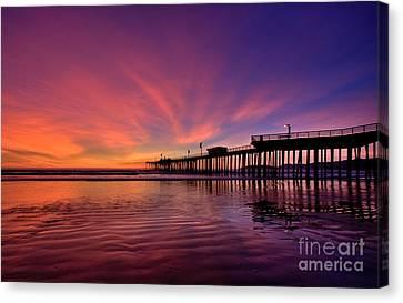 Sunset Afterglow Canvas Print