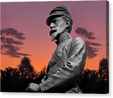 Sunset At Gettysburg  Canvas Print by David Dehner