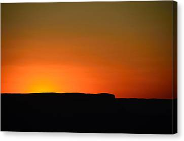 Sunset At Grand Canyon Canvas Print by RicardMN Photography