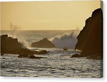 Sunset At Half Moon Bay Canvas Print