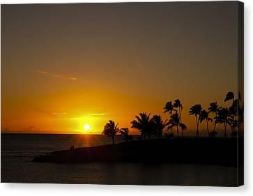 Sunset At Ko Olina Canvas Print