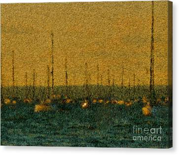 Sunset At Sea Cliff Canvas Print by Jeff Breiman