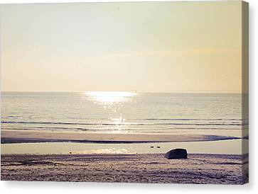 Sunset At Silver Canvas Print