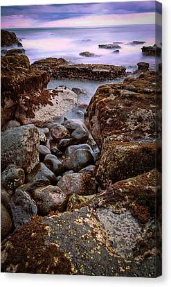 Canvas Print featuring the photograph Sunset At Tanah Lot - Bali by Matthew Onheiber