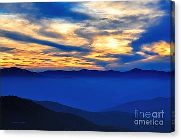 Sunset At The Max Canvas Print