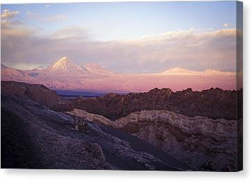 Sunset At The Valley Of The Moon Canvas Print by Lana Enderle