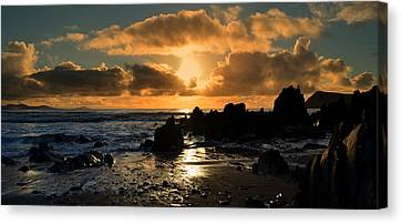 Sunset Canvas Print by Barbara Walsh