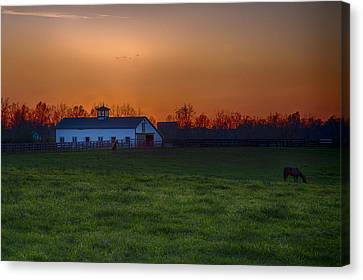 Walmac Farm Ky  Canvas Print