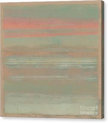 Sunset Beach Canvas Print by Lonnie Christopher