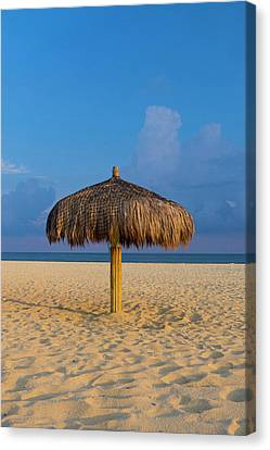 Sunset, Beach, San Jose De Cabo, Baja Canvas Print by Douglas Peebles